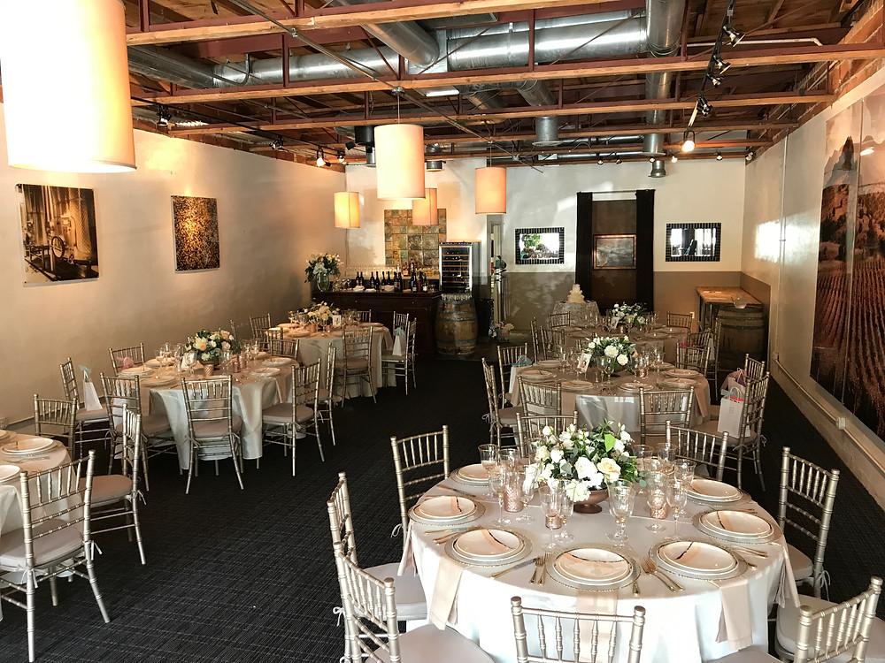 Times Ten Cellars reception