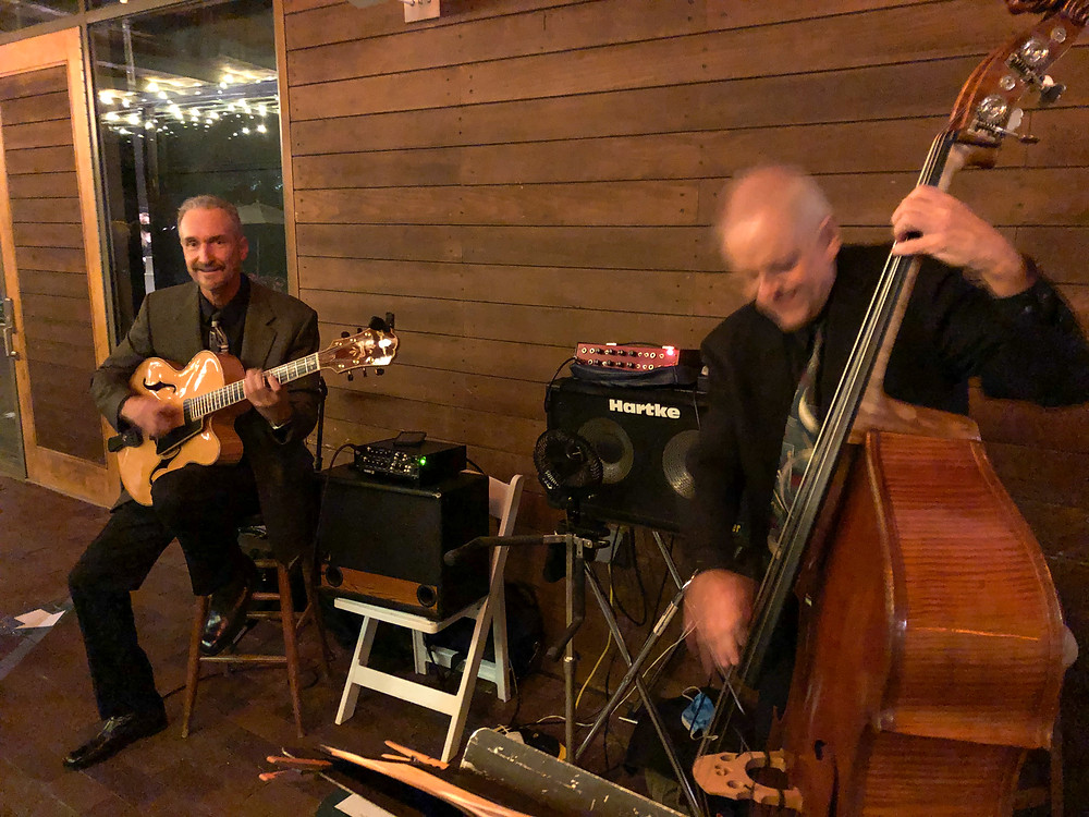 Jazz trio for Dallas Arboretum reception