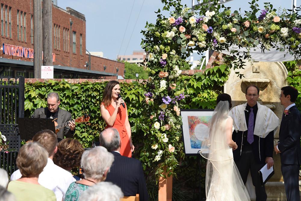 Wedding at the Ashton Depot