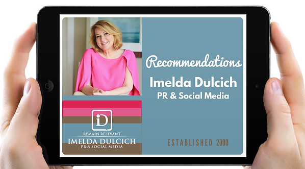 Imelda Dulcich Public Relations and Social Media on LinkedIn
