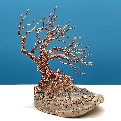 """Solo Tree on a Half Shell(3"""" tall)"""