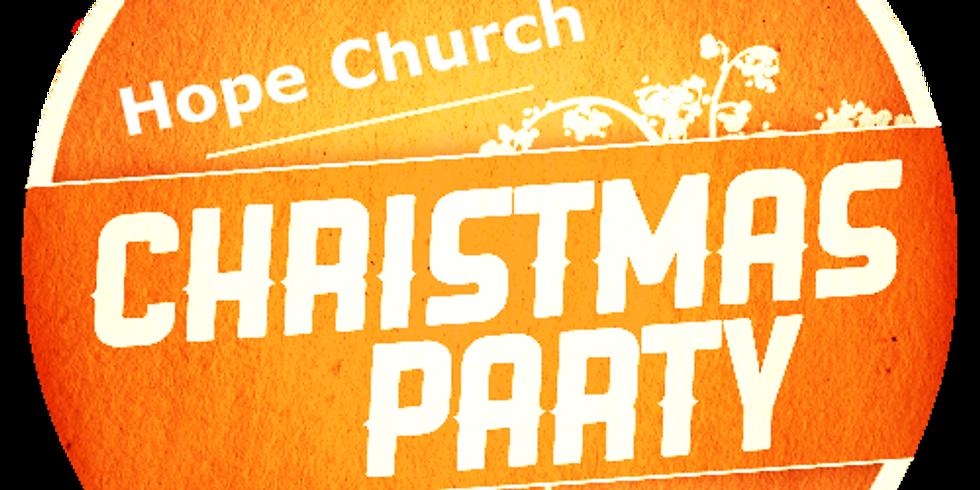 Hope Church Christmas Party