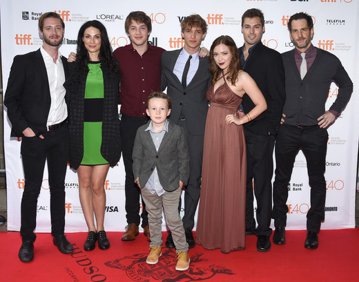 Jack Fulton on the red carpet for the TIFF 2015 premiere of Closet Monster