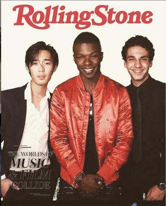 Andre Dae Kim, Richard Walters, and Ehren Kassam at the NKPRIR18 Producer's Ball for TIFF 2018