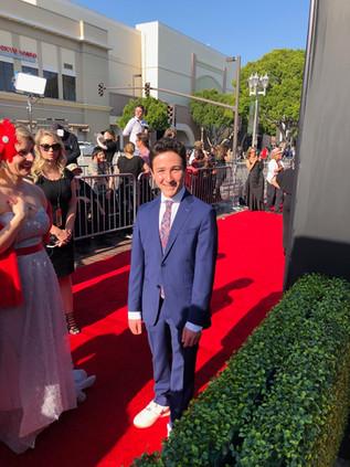 Devan Cohen at the Daytime Emmy Awards for Daniel Tiger's Neighbourhood