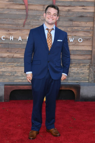 Jake Sim at the IT: Chapter 2 premiere