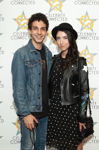 Ehren Kassam at the Celebrity Connected Gifting Suite for TIFF 2018