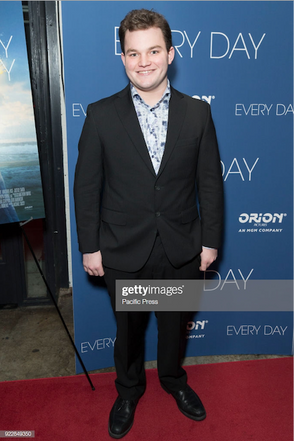 Jake Sim at the Every Day premiere
