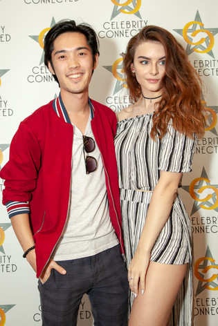 Andre Dae Kim at the Celebrity Connected Gifting Suite for TIFF 2018