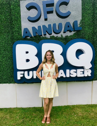 Sofie Holland at the CFC BBQ for TIFF 2019