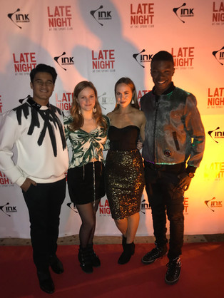 Amir Bageria, Addy Douglas, Sofie Holland, and Richard Walters at the Spoke Club for TIFF 2019