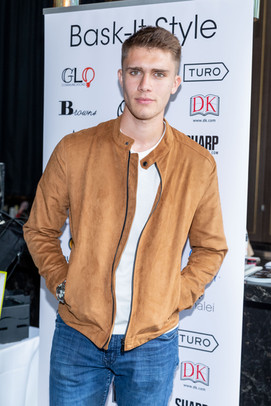 Donald MacLean Jr. at the Bask-It Style Lounge for TIFF 2019