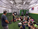 Bases Academy Coaches teaching the game