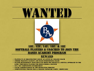 BA Wanted poster Players & Coaches image