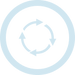 arrow-cycling-symbol-in-a-circle (l blue