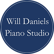 Logo Will Daniels Piano Studio (no line)