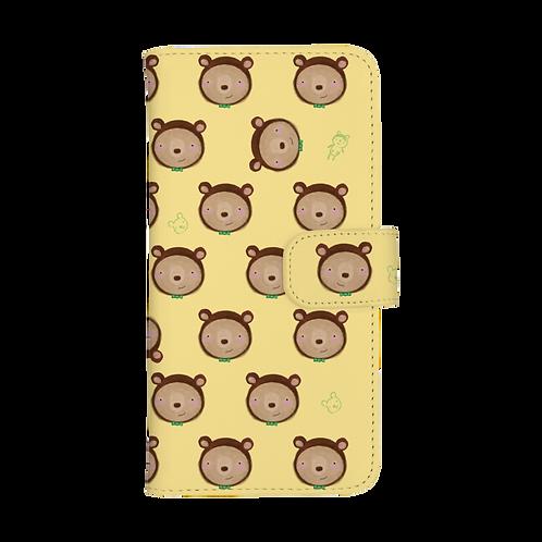 手帳型スマホケース【こぐまのポッケ】