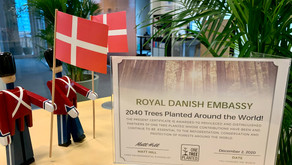 The Royal Danish Embassy in Singapore is now carbon neutral