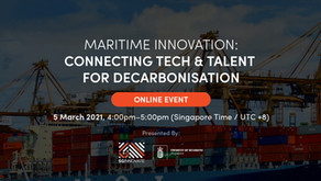 """""""Maritime Innovation: Connecting Tech & Talent For Decarbonisation"""", event summary"""