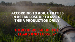 """""""How to solve leaks in Southeast Asia's utilities and water networks?"""" - by Kamstrup"""