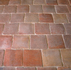 6″ square French Terracotta