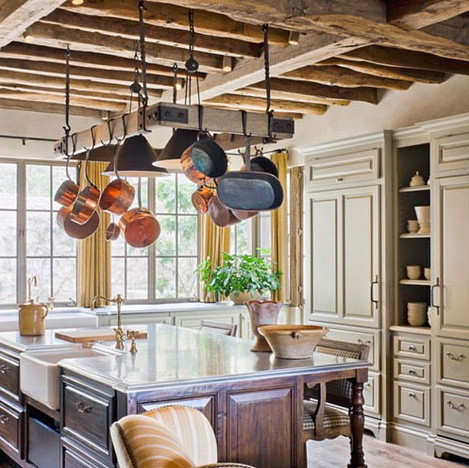 French Oak beams