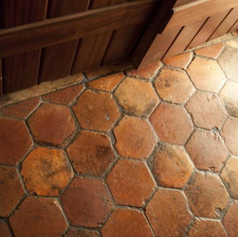 Hexagonal French Terracotta