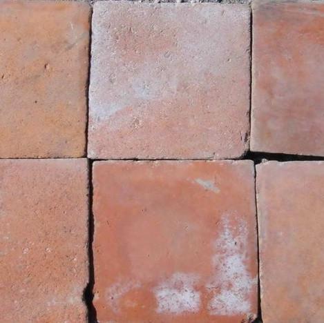 Large French Terracotta Tiles