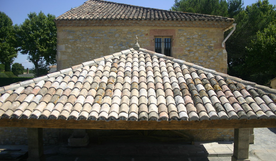 French Mission Barrel Roof Tiles