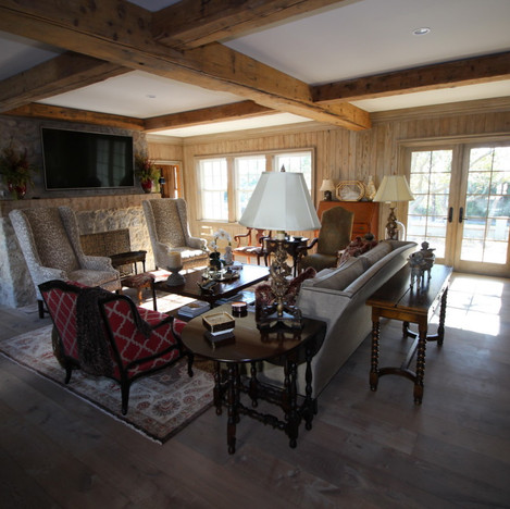 French Pine beams