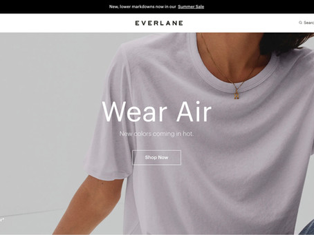 How Everlane proofs their brand value through commitment to transparency and social responsibility