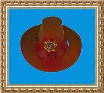 Kapelusz kowbojski, Kapelusz kartonowy kowbojski składany z dwóch części,wyrób chroniony w UP RP