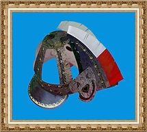 Hełm husarski kartonowy,Hełm Husarza z kartonu