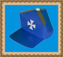 Gadżety ekologiczne, czapka kartonowa