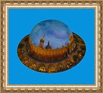 kapelusz góralski z nadrukiem KT15