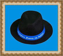 kapelusz gangsterski,kapelusz z wstążką