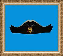 czapka pirata, hełm kartonowy,hełm z nadrukiem, hełm reklamowy