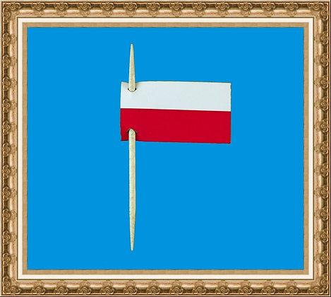Polish paper flag