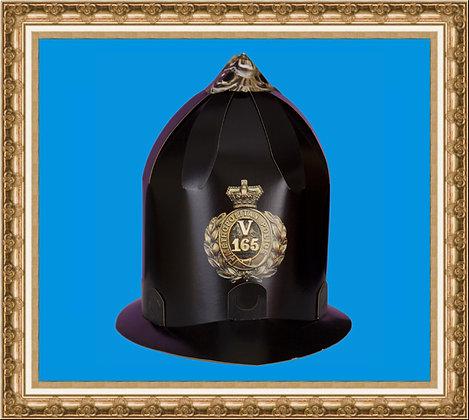 Hełm policjanta DIY