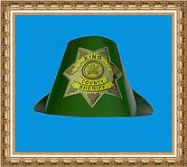 Kapelusz myśliwski, Kapelusz kartonowy,kapelusz reklamowy,kapelusz z nadrukiem