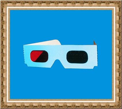 Okulary kartonowe 3D