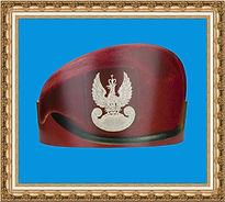 czapka z nadrukiem,czapka reklamowa,czapka papierowa,beret komandosa