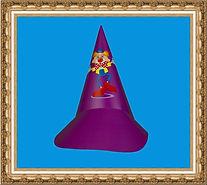 Czapka karnawałowa,czapka stożkowa,czapka kartonowa,czapka z nadrukiem,czapka świąteczna