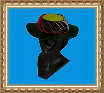 Kapelusz spiralny, Kapelusz kartonowy,kapelusz reklamowy,kapelusz z nadrukiem