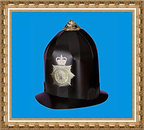 hełm policjanta z kartonu, Do It Yourself,Zrób to sam,gadżet reklamowy,event,hełm do złożenia