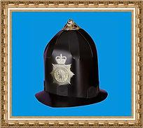 hełm policjanta brytyjskiego.DIY,Do It Yourself,hełm kartonowy,hełm reklamowy,hełm z nadrukiem