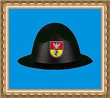 Kapelusz z logo firmowym.kapelusz z pianki