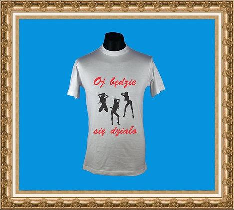 T-shirt z nadrukiem 242