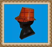 czapka kartonowa,czapka z nadrukiem,czapka reklamowa,czapka Sherlocka Holmesa