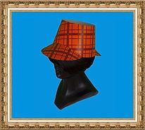 czapka kartonowa,czapka reklamowa,czapka z nadrukiem, czapeczka reklamowa,czapka z dwoma daszkami,czapka Sherlocka Holmesa
